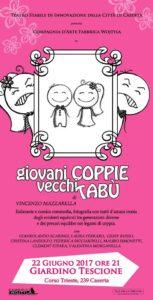 19275006 889431671199277 1675583912138602090 n 153x300 La Fabbrica Wojtyla presenta Giovani Coppie e Vecchi Tabù
