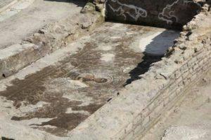 mosaico 300x200 Cementificazione: quasi ultimato complesso residenziale sorto su mosaico del III sec. d.C.