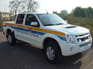 prot.civ . 300x225 Alla Protezione Civile un nuovo pickup cassonato