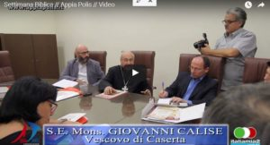 Cattura 1 300x162 VIDEO   Monsignor DAlise apre la XXI Settimana Biblica