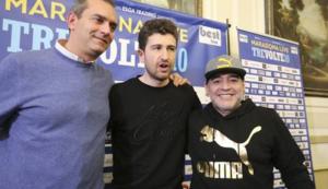 de magistris maradona siani 300x173 Cittadinanza onoraria a Maradona: piano di sicurezza imponente