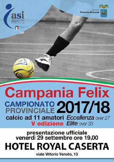 CALCIO 1 IL SETTORE CALCIO DEL COMITATO PROVINCIALE ASI PRESENTA LA STAGIONE 2017/18