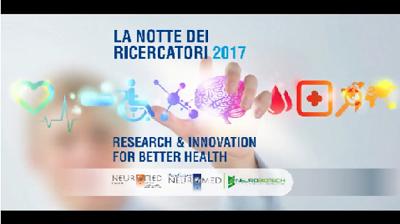 NEUROMED NOTTE EUROPEA DEI RICERCATORI: RESEARCH & INNOVATION FOR BETTER HEALTH E IL TEMA DELLEDIZIONE 2017