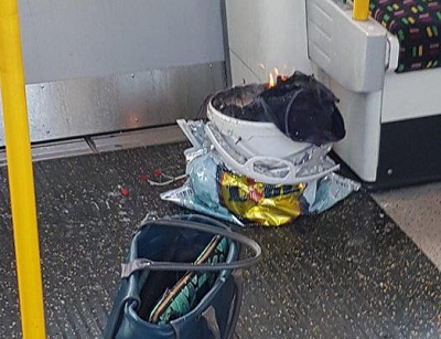 bomba artigianale TERRORISMO: ORDIGNO ESPLODE NELLA METROPOLITANA DI LONDRA