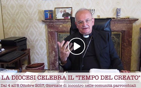 video Mon.A.Spiniello LA DIOCESI CELEBRA IL TEMPO DEL CREATO: IL VIDEO MESSAGGIO DI MONS. SPINILLO