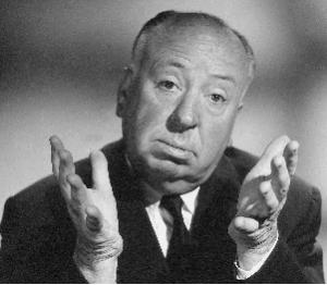 Alfred Hitchcock 2 300x262 FILM ANNI 50, IL MAESTRO DELLA SUSPENSE: ALFRED HITCHCOCK