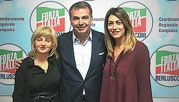Casertano Cicia De Siano LE DONNE DI FORZA ITALIA PROVINCIALE: ROSALINA CAPUANO ED ELISABETTA CORVINO