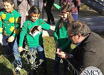 Festa Albero 3 FESTA DELL'ALBERO, IL FUTURO NON SI BRUCIA: PIANTATI LECCI E LIGUSTRI GIAPPONESI NELLE SCUOLE CITTADINE