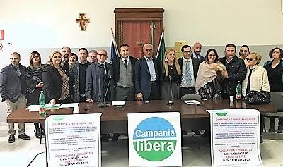IMG 1275 CONGRESSO CITTADINO DI CAMPANIA LIBERA: SEGRETARIO MAURIZIO CECERE