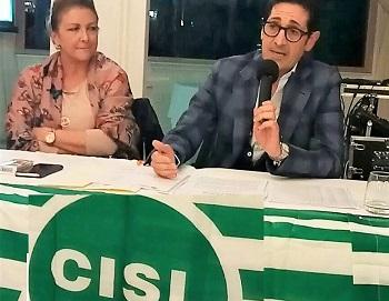 IMG 8777 CONSIGLIO GENERALE UST CISL CASERTA, IN SEGRETERIA CRISTIANI E AMENTA
