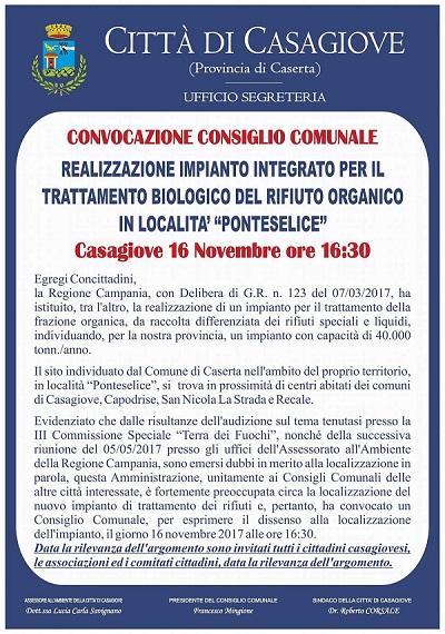 IMG 8783 BIODIGESTORE IN PONTESELICE, IL SINDACO CORSALE CONVOCA SUL TEMA UN NUOVO CONSIGLIO COMUNALE