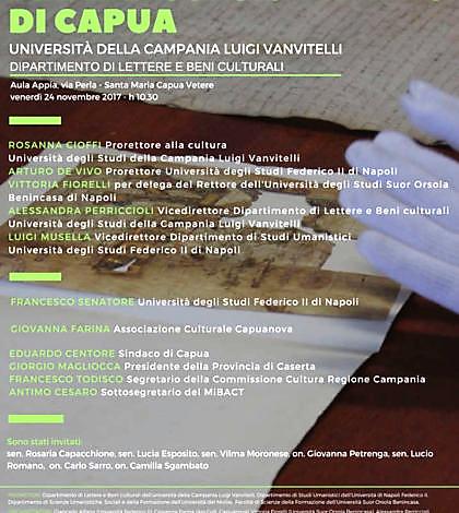 Immagine 34 LE UNIVERSITÀ PER IL MUSEO CAMPANO DI CAPUA