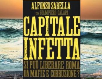 LIBRO IL MAGISTRATO SABELLA A LUSCIANO PER LA PRESENTAZIONE DEL LIBRO 'CAPITALE INFETTA'