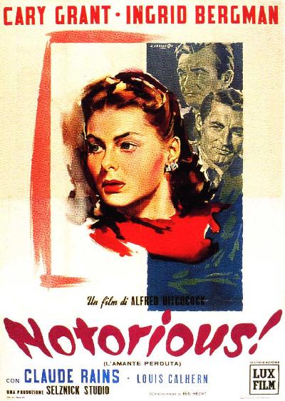 NOTORIUS FILM ANNI 50, IL MAESTRO DELLA SUSPENSE: ALFRED HITCHCOCK