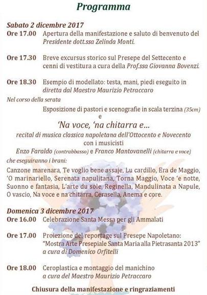 PROGRAMMA ARTISTI PER LA FONDAZIONE LA CITTÀ DELLE VERBENE, APPUNTAMENTO PER IL 2 E 3 DICEMBRE