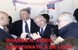 """VIDEO 300x192 """"CAMPANIA IN MOVIMENTO"""" SUCCESSO DI PISCITELLI E GAFFE DI DE LUCA"""