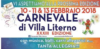 banner carnevale liternese XXXIII CARNEVALE LITERNESE NEL CIRCUITO DI CARNEVALIA