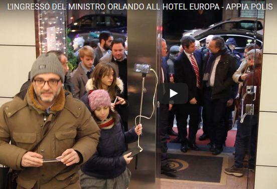 Cattura 21 IL MINISTRO ORLANDO A CASERTA PER IL DIBATTITO SULLEQUO COMPENSO