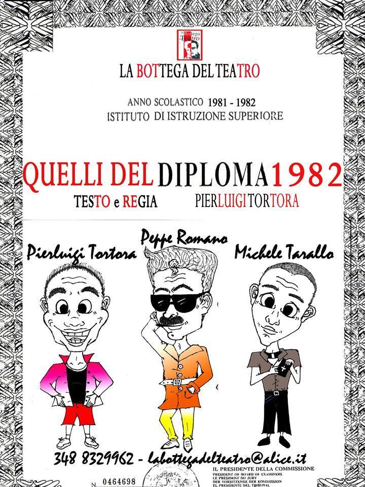 diploma 1982 IL TEATRO PETROLINI OSPITA QUELLI DEL DIPLOMA...1982