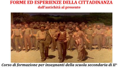 Immagine 49 FORME ED ESPERIENZE DELLA CITTADINANZA DALLANTICHITÀ AL PRESENTE: CORSO DI FORMAZIONE PER DOCENTI