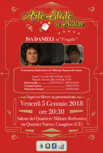 Locandina Isa Danieli gratis verticale 202x300 ARTESTATE...A NATALE, ECCO FRAGILE DI ISA DANIELI