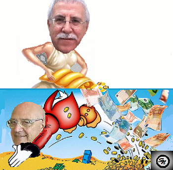 asl ASL, DE BIASIO, IL RICCO EPULONE, REGALA 30MILA EURO A MENDUNI