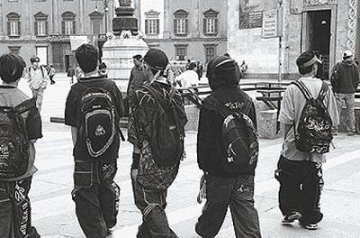 gang BABY GANG NEL NAPOLETANO: 7 ARRESTI