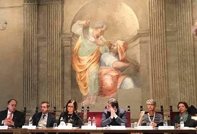 incontro 70 costituzione 2 70° ANNIVERSARIO DELLA COSTITUZIONE ITALIANA, IL MINISTRO ORLANDO AL CONVEGNO A ROMA