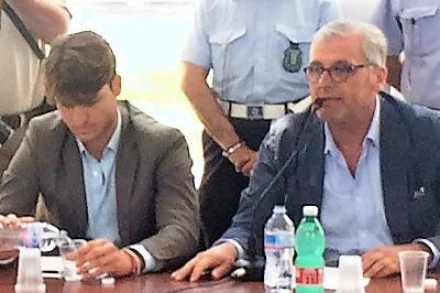 CINOTTI LIBERAMENTE INSIEME ABBANDONA L'AULA CONSILIARE DOPO AVER VOTATO PER LA DECADENZA DEL CONSIGLIERE CINOTTI