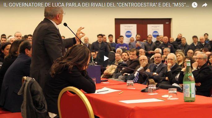 Cattura 50 DE LUCA A CASERTA, UN'ALTRA OCCASIONE PERSA PER IL PD