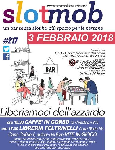SLOTMOB Caserta 20180203 A CASERTA IL PRIMO SLOTMOB DEL 2018
