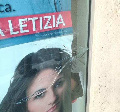 %name ATTO INTIMIDATORIO CONTRO LA CANDIDATA ANGELA LETIZIA