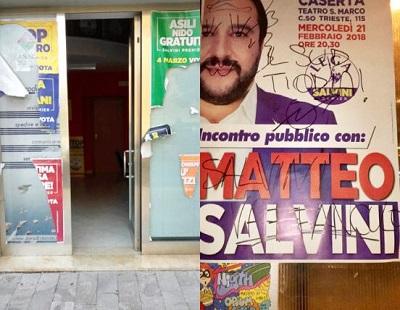 %name LA CONDANNA DI BARBARO ALLATTO VANDALICO NEL COMITATO DELLA LEGA A CASERTA: RISPONDERÀ LA RIVOLUZIONE DEL BUONSENSO