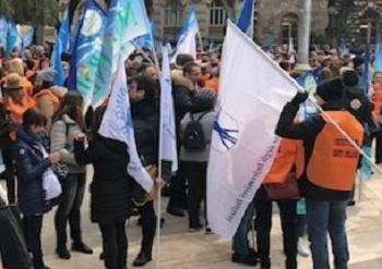 """protesta infermieri RINNOVO CONTRATTO, NURSING UP E NURSIND NON FIRMANO: """"E' LA MORTE DELLA SANITÀ"""""""