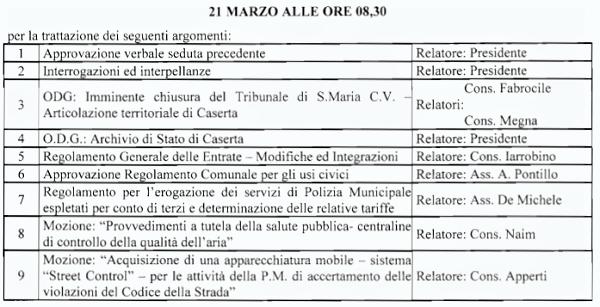 Immagine 43 CONVOCAZIONE CONSIGLIO COMUNALE: FINALMENTE SI PARLA DELLARCHIVIO DI STATO