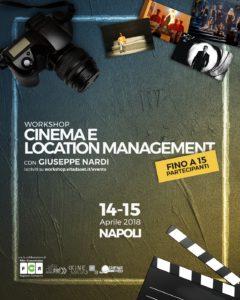 "Kinemata Cinema Location Management workshop locandina 240x300 VITA DA SET: IL 14 E 15 APRILE WORKSHOP SU ""CINEMA E LOCATION MANAGEMENT"""