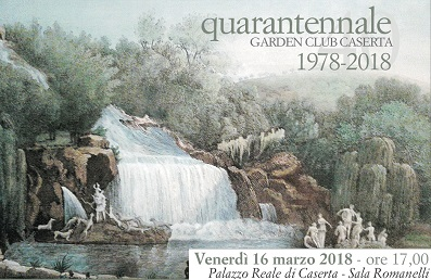 invito garden 40 anni 1 REGGIA DI CASERTA: DOMANI IL QUARANTENNALE GARDEN CLUB CASERTA