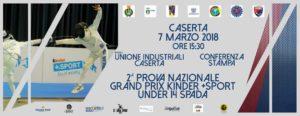 locandina 300x116 SCHERMA: CASERTA SEDE DEL TROFEO MANGIAROTTI DI UNDER 14
