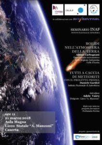 locandina inaf 211x300 IL LICEO MANZONI APRE ALL'ASTROFISICA: IL PROGETTO PRISMA A CASERTA