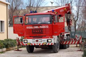 pompieri 300x199 INCENDIO NEL REPARTO DI PSICHIATRIA DEL RUMMO DI BENEVENTO, SUL POSTO I VIGILI DEL FUOCO