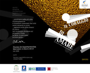web invito 300x243 IL CORAGGIO DI AMARE, LEVENTO PER RICORDARE CHIARA LUBICH
