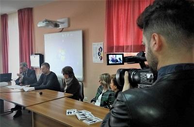 2 CAMORRA, SECONDO INCONTRO AL LICEO PASOLINI DI POTENZA: FOLTA PLATEA DI STUDENTI PER ASCOLTARE LEONARDI