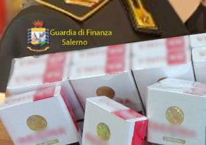 GDF SIGARETTE 300x212 GDF, SEQUESTRATI 3,5 KG DI TABACCHI SENZA LICENZA