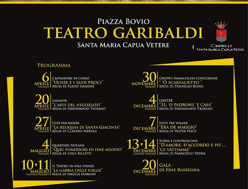 Rassegna Teatrale Amatoriale 2018  Manifesto 32X48 1 PARTE LA NUOVA STAGIONE DI TEATRO AMATORIALE