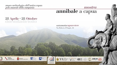 invito inaugurazione Annibale a Capua ANNIBALE A CAPUA AL MUSEO ARCHEOLOGICO