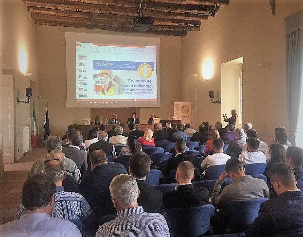 C BELVEDERE DI SAN LEUCIO, L'EUROPARLAMENTARE PATRICIELLO AL CONVEGNO DEI GEOMETRI