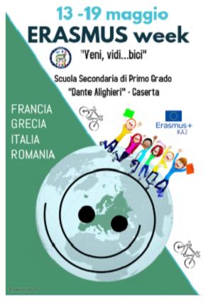 ERASMUS DANTE ALIGHIERI LA DANTE ALIGHIERI OSPITA DELEGAZIONI EUROPEE DI FRANCIA, GRECIA E ROMANIA