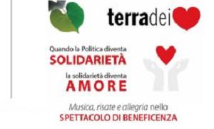 """TERRA DEI CUORI SERATA DI BENEFICENZA DI """"TERRA DEI CUORI"""", LADESIONE DEL CANDIDATO DI BENEDETTO"""