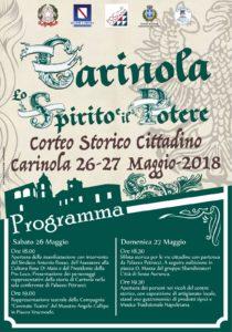 %name A CARINOLA IL CORTEO STORICO CITTADINO IL 26 E IL 27 MAGGIO