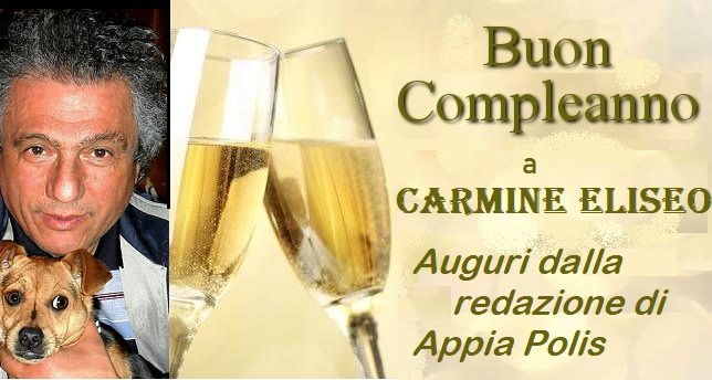 Appiapolis News In Tempo Reale Buon Compleanno A Carmine Eliseo